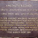 Bronzetafel 1988