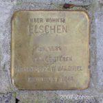 Stolperstein Else H., Meiderich, Foto: Zöhren