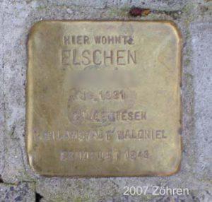 Stolperstein Else H.