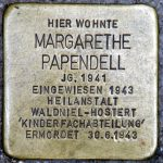 Stolperstein in Krefeld