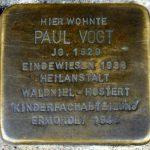 Stolperstein für Paul in Krefeld