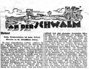 Dreistädtzeitung 1932
