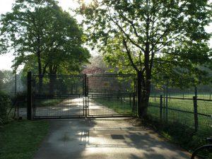Zugang zum Gelände