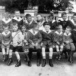 1934 Pfleger und Kinder, Privatbesitz Sarstedt