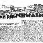 Zeitungsausschnitt, Chronik des St. Josefsheims