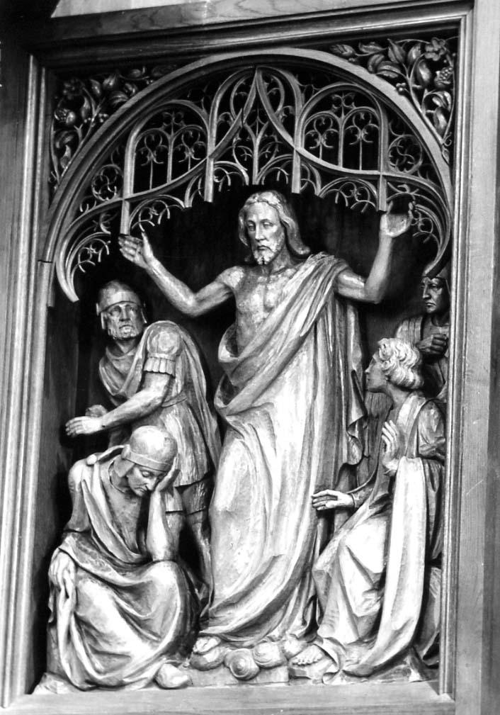 Auferstehung, Christus König Altar Anstaltskirche Hostert