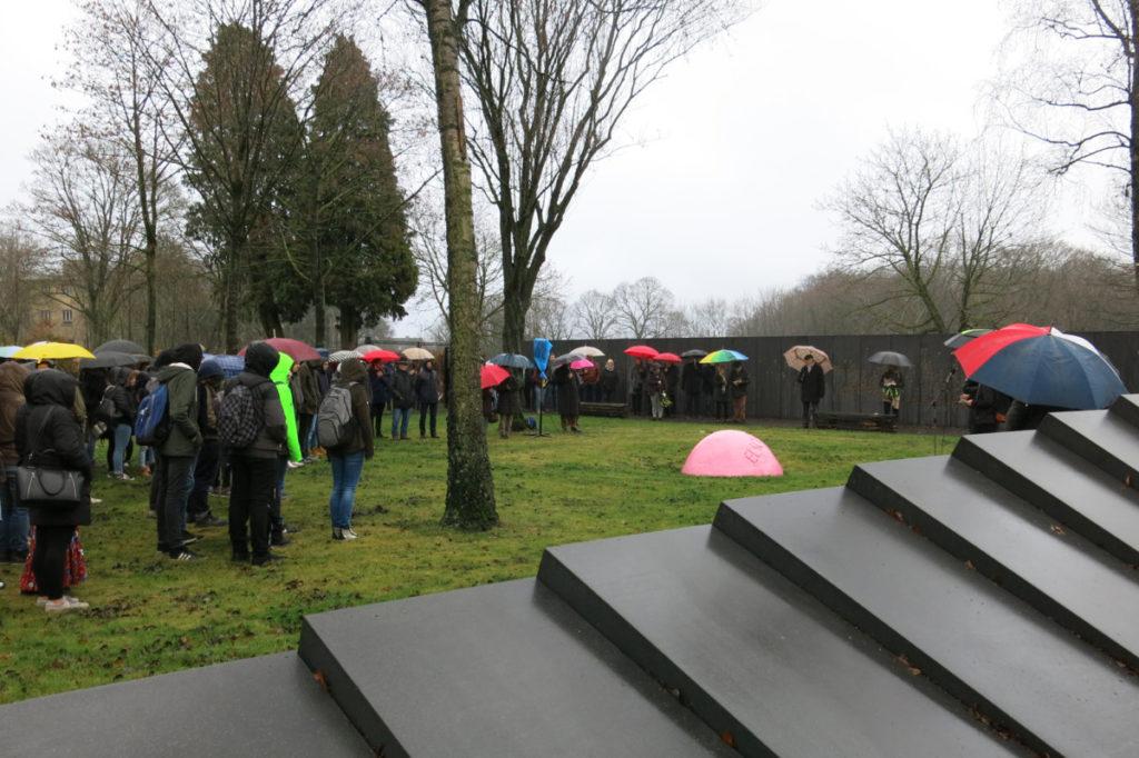 Gedenkfeier am 28. Januar 2019 auf der Gedenkstätte Waldniel- Hostert.