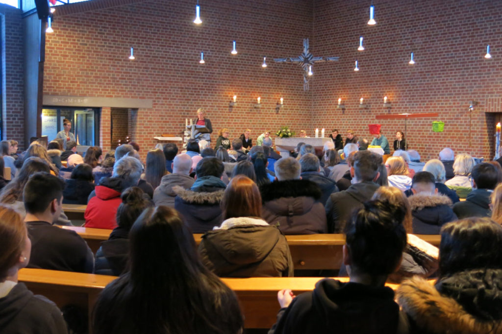 Gedenkfeier am 28. Januar 2019 in der Kirche St. Mariae Himmelfahrt