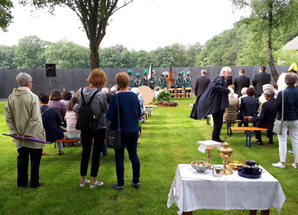 fronleichnam 2019, Gedenkstaätte Waldniel-Hostert